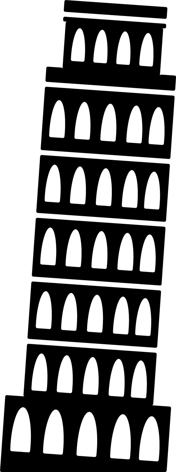 建物シルエットの画像